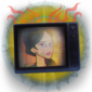 Book Worm trophy icon IW