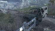 CODMW2 Loose Ends Destroyed UAZ3151