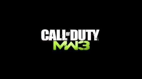 Call of Duty Modern Warfare 3 SAS Spawn Theme