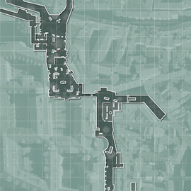 Eye of the Storm minimap streets MW3