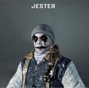 Jester Face Paint BO