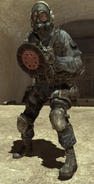 SAS holding p-radar mw3