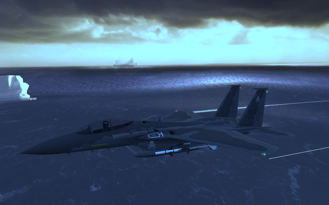 File:Side view F-15 The Only Easy Day Was Yesterday.png