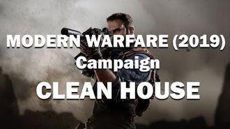 "CALL OF DUTY MODERN WARFARE (2019) Campaign ""CLEAN HOUSE"" (COD MW)"