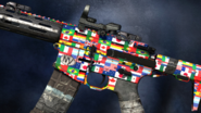 Flags of the World Personalization Pack Camo Sideview CoDG