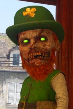 Leprechaun Zombie WWII