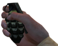 MK 2 Grenade First Person CoD