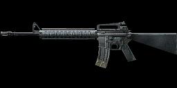 Weapon m16a4