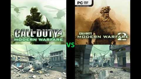 "CoD4 vs MW2 ""Crash"" Multiplayer Map Comparison"