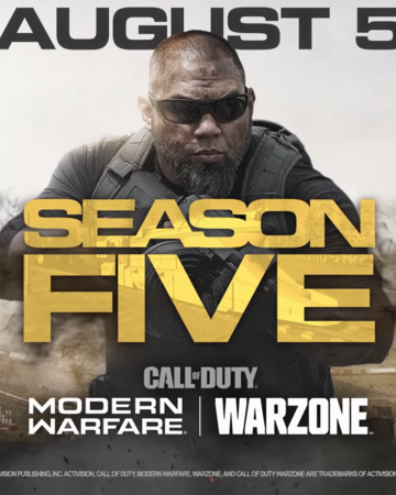 Season Five Modern Warfare Call Of Duty Wiki Fandom