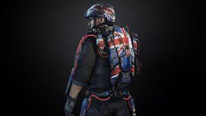 United Kingdom Exoskeleton Pack AW