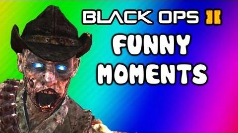 Black Ops 2 Buried Zombies Funny Noob Moments - Time BOMB Trolling, Paralyzer, Remington Pistol