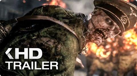 CALL OF DUTY WWII Zombies Trailer German Deutsch (2017)