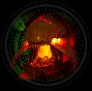 Cryptid Fight Boss Battle icon IW