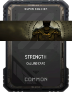 Strength Calling Card Supply Drop Card MWR