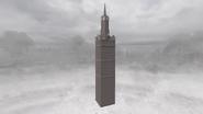 Башня в воздухе летала