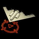 Bombowiec Stealth ikona menu mw3