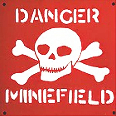 Image result for minefield images