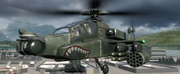 AH-64 Apache's mouth decal MW2