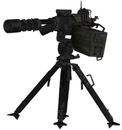 Sentry Gun Destroyed model MW2