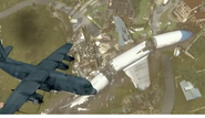 AC-130 above Black Box MW3