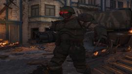 Rosyjski zolnierz zombie Gorod Krovi