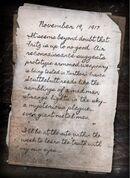 Tank Dempsey letter Origins BOII