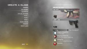 Create-a-Class MW2