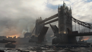 London Docks Loading Screen 1 WWII