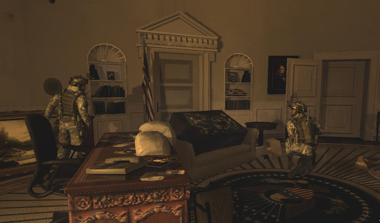 oval office history. Dunn And Foley At The Oval Office MW2.png History J