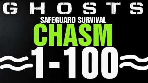 Chasm Rounds 1-100 Full Gameplay - Call of Duty Ghosts Safeguard Survival Infinite Completed