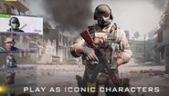 CoD Mobile Play As Iconic Characters