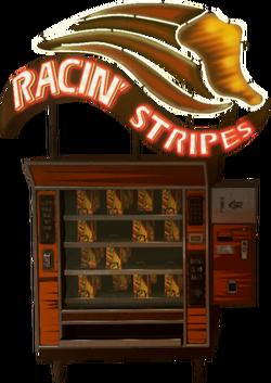 Racin' Stripes Perk Machine IW