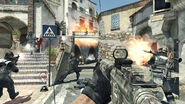 M16A4 Firefight Piazza MW3