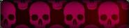 Pink Skulls Background BO