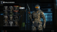 Black Out Body Male BO3