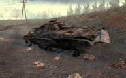 Destroyed BMP-2 Wasteland MW2