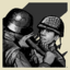 Rescuer trophy icon WWII