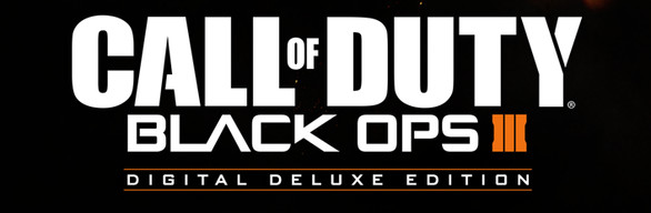 Call of Duty Black Ops III Deluxe edition