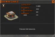 Gold Miner Level 2 Stats CoDH