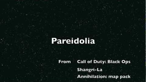 Pareidolia Elena Siegman Call of Duty Black Ops - Shangri-La Easter Egg song Kevin Sherwood