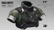 Marine upper torso-neck concept IW