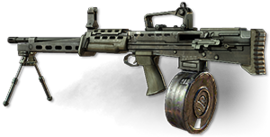 Weapon sa80 mw3