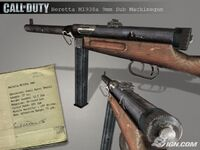 Beretta M1938a 9mm Sub Machinegun