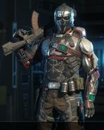 Ruin Gladiator outfit BO3