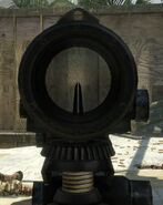 ACOG Sight SUSAT Scope Variant BO