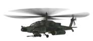 AH-64 Apache model MW2