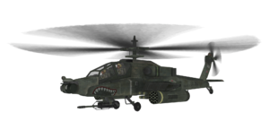 AH-64 Apache model MW2