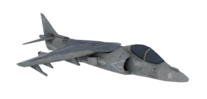 AV-8B Harrier II model CoD4