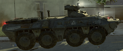 BTR-80 side view Wolverines! MW2